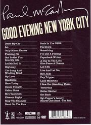 Paul McCartney: Good Evening New York City (Deluxe Edition)